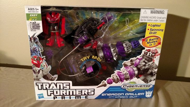 Transformers Prime Cyberverse Energon Driller, Star Hammer & Bumblebee MISB #Hasbro