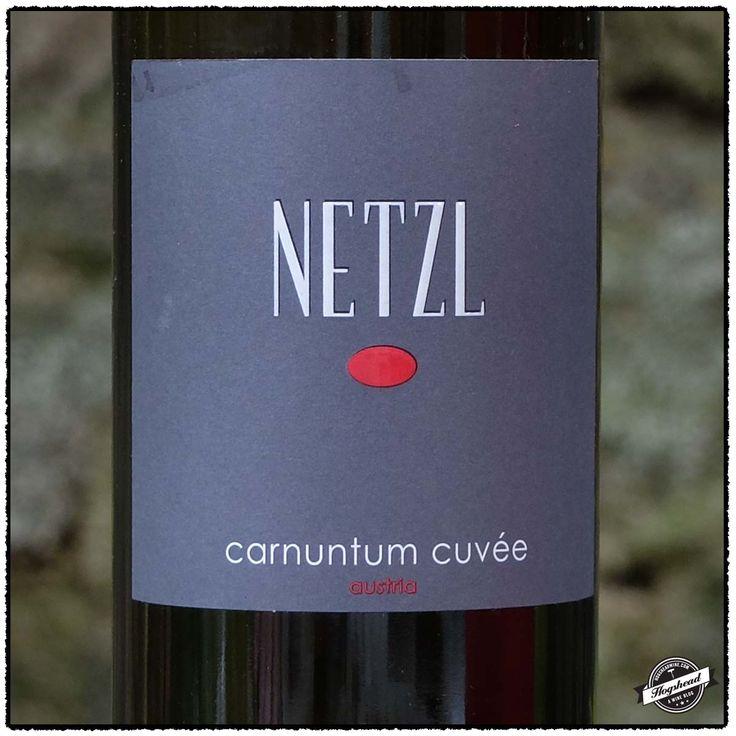 Netzl, Austria believes in a blend of Zweigelt, Blaufraenkisch and Merlot for his best quality.