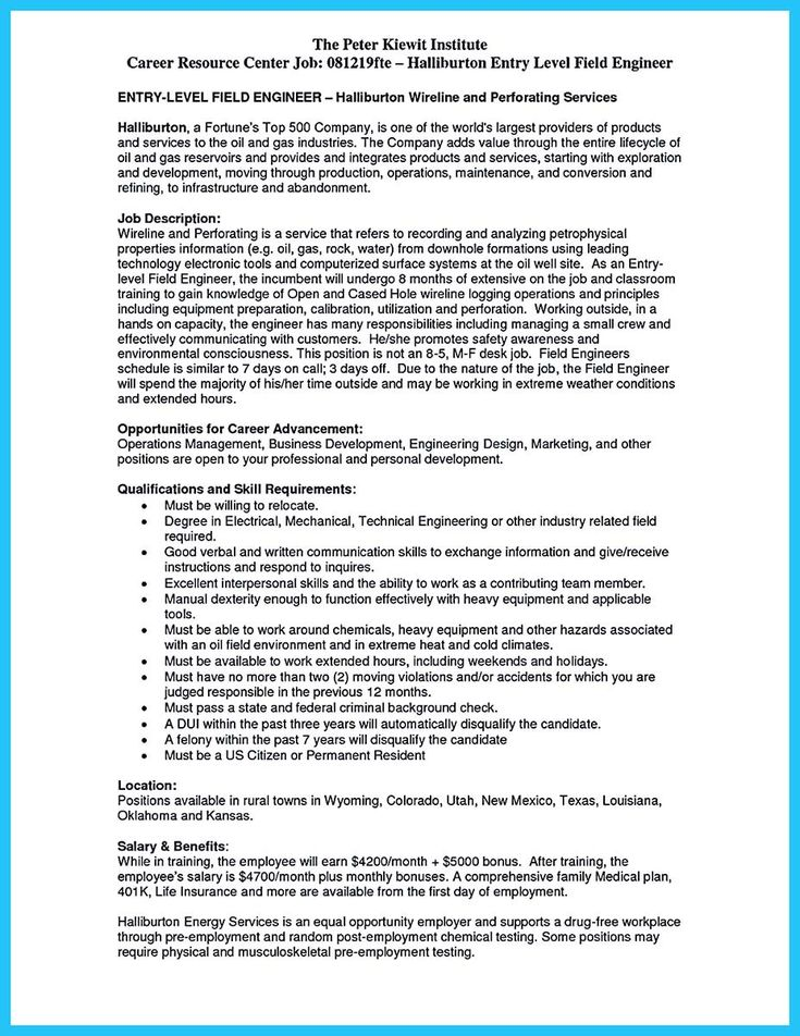 cool Crafting a Representative Audio Engineer Resume, Check more - halliburton field engineer sample resume