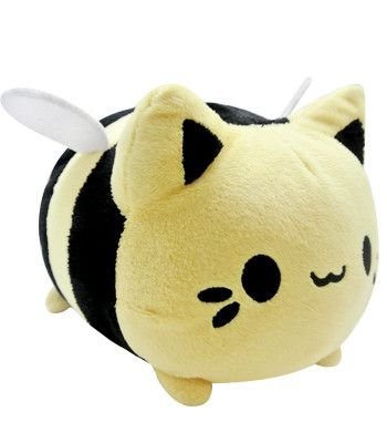Meowchi Plush Bumble Bee - By Tasty Peach Studios. Lots of other cute stuff here.