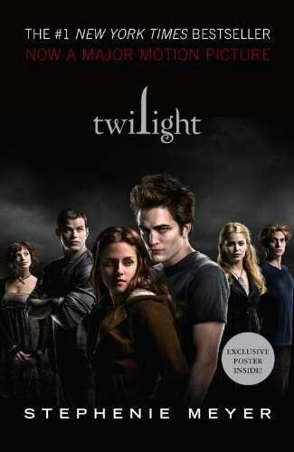 This is one of my favourite books. I watched the movie version 'Twilight' first, then read the series. This is the book that started my love for reading.