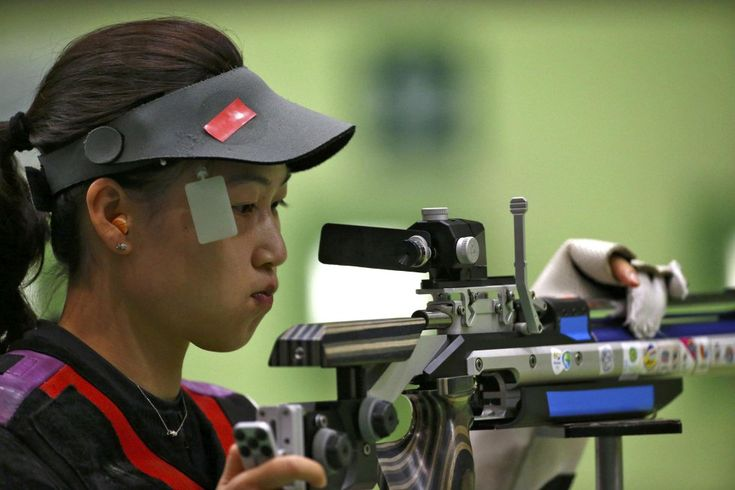 2016 Rio Olympics - Shooting - Preliminary - Women's 10m Air Rifle Qualification…