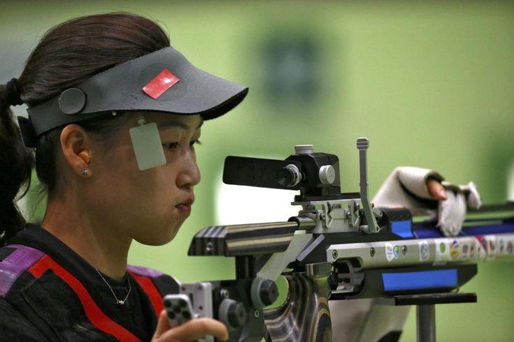 2016 Rio Olympics - Shooting - Preliminary - Women's 10m Air Rifle Qualification…