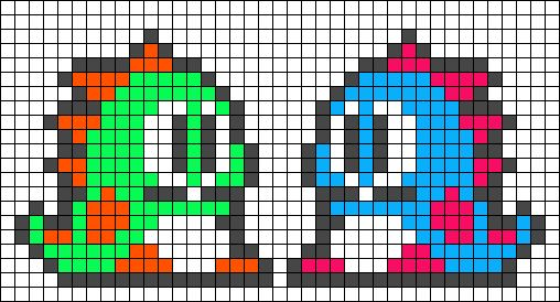 Alpha Friendship Bracelet Pattern #14665 - BraceletBook.com