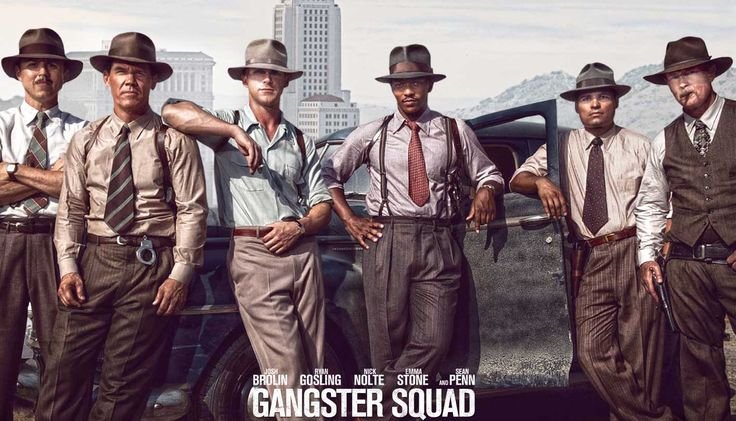There were no black or Hispanic cops on the Gangster Squad because integration happened at a glacial pace in the LAPD and racism was deep-rooted, which was one of the causes of the Watts Riots. Description from historyonfilm.com. I searched for this on bing.com/images