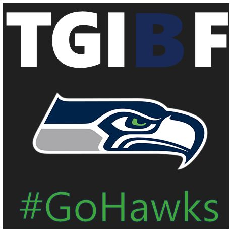 TGIBF...Happy Blue Friday Seahawks fans... www.HomematchNW.com #homematchnw #bluefriday