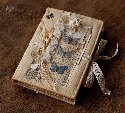 """Блокноты ручной работы. Ярмарка Мастеров - ручная работа Блокнот """"Мотыльки"""". Handmade."""