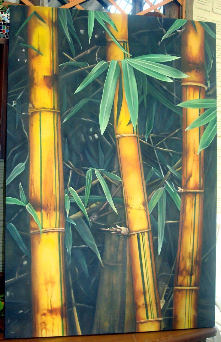 защиты бамбук батик фото картин этого