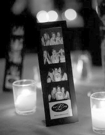 I want to have a photo booth, so for the favors I want to get cute frames for guests to put their pictures in