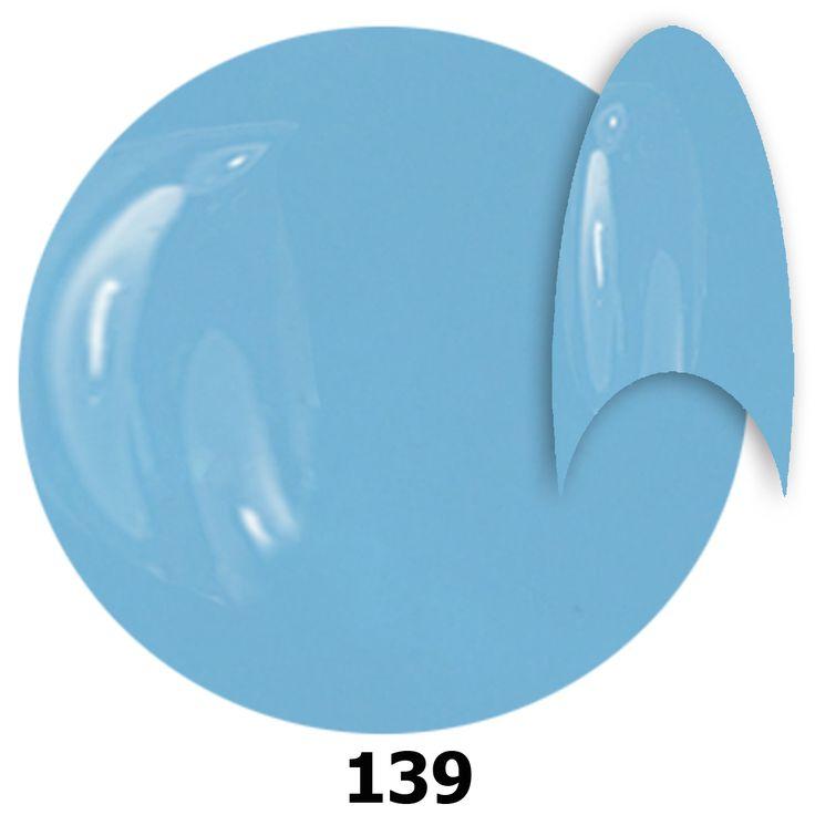 <b> 139. NTN Lakier żelowy UV - Soft Blau -  Niebieski - 6ml.  </b>