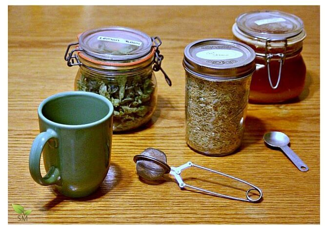 On days when twinges of anxiety or feelings of overwhelm begin to take root in the brain, consider brewing a cup of this Lemon Balm Oat Straw Tea Recipe.