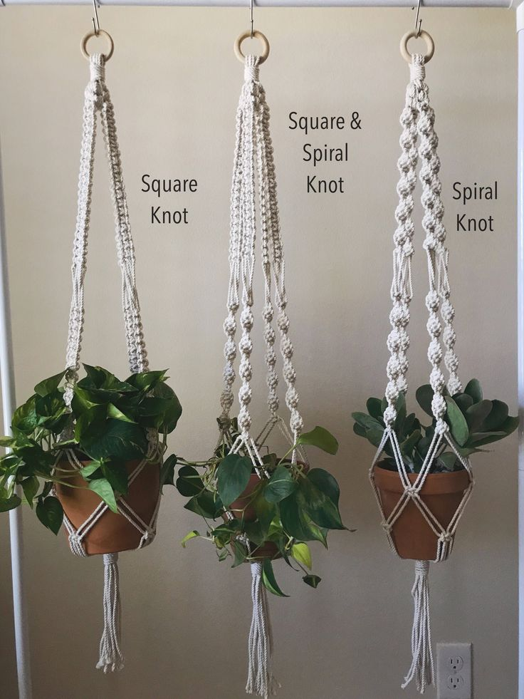 Pin By The Foliage Room On Plant Hangers Macrame