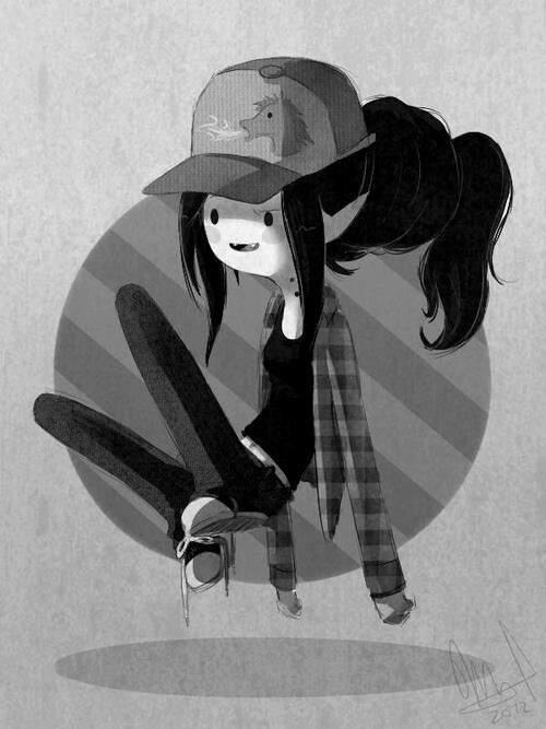 Marcy is so cute and awesome I love her and really don't now why lolz she is just he best from adventure time lolz