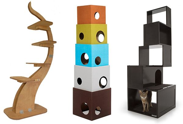 Banish the Ugly Beige Carpet: Check Out These Cool Cat Trees