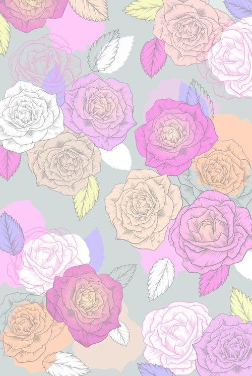 Картинка с тегом «flowers, vintage, and patterns»