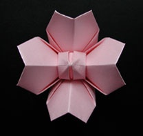 Origami Japanese Cherry Blossom & Origami Wedding Table Cards