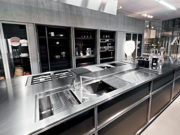 La italiana de cocinas de lujo, #rossana, presenta su nueva cocina ...