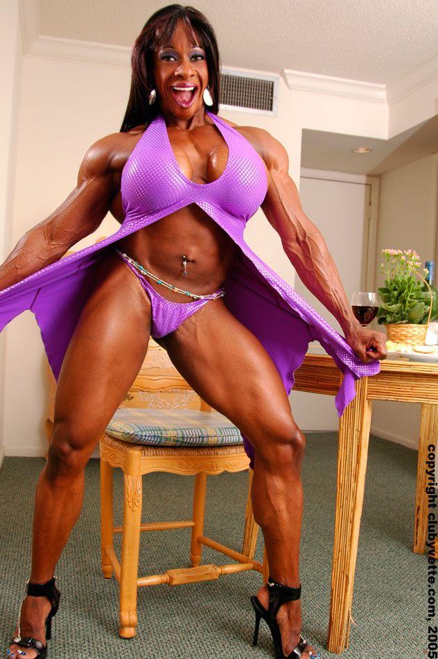 Yvette Bova  Fit Women Formations  Muscle Girls, Gym -5664