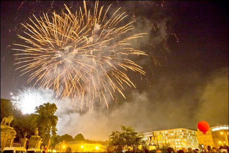 Feu d'artifice - vuurwerk - fireworks (21.07.13) © Eric Danhier
