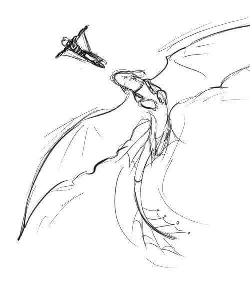 Beautiful ♡ Hiccup and Toothless ^.^ ♡ I give good credit to whoever made this