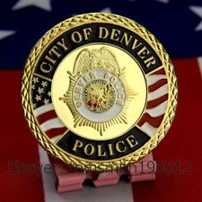 City of Denver Police Department Challenge Coin 672