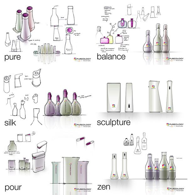 PUREOLOGY Packaging Innovation by Orange22 Design Lab , via Behance