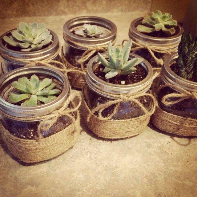 20 DIY Mason Jars Flower Pots