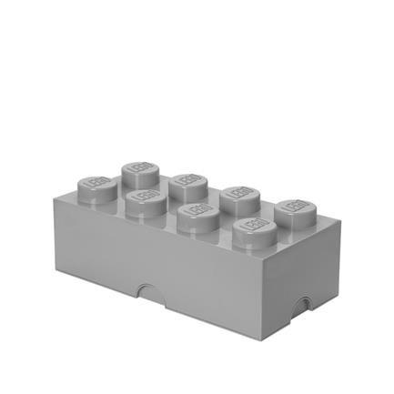 Lego Storage Box 8, stone grey, Piet Hein, Room Copenhagen