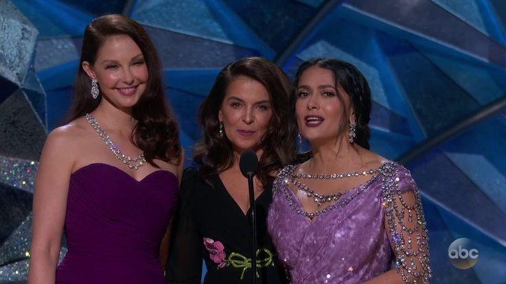 [Video] Ashley Judd, Annabella Sciorra, & Salma Hayek Introduce New Voices (5:25)