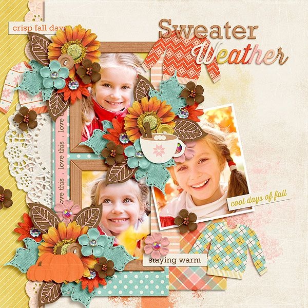 Sweater Weather by Jady Day Studio http://www.sweetshoppedesigns.com/sweetshoppe/product.php?productid=29422&cat=710&page=6  Autumnal Templates by Southern Serenity Designs The Digichick 40% OFF thru Nov 3 - http://www.thedigichick.com/shop/Autumnal.html  The Studio 30% OFF thru 11/3: http://www.digitalscrapbookingstudio.com/store/southern-serenity-designs-c-13_567/autumnal-p-31810.html