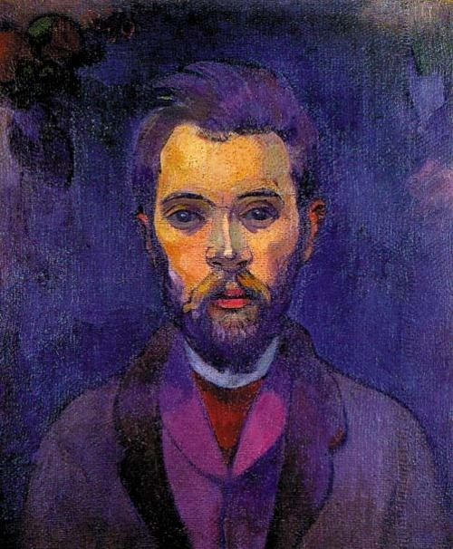 Paul Gauguin: Portrait de William Molard, 1893-1894