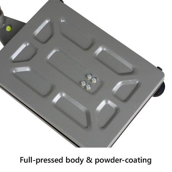 Bodi plaftorm timbangan Full-pressed body dan finishing powder-coating