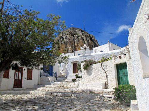 Relax at the chora, Amorgos