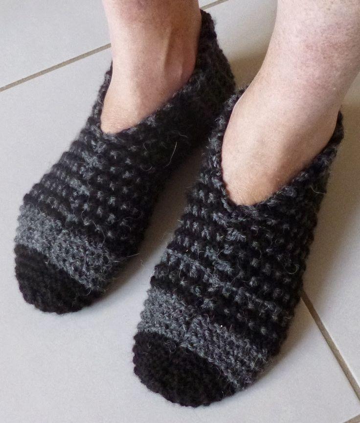 Des pantoufles pour les hommes