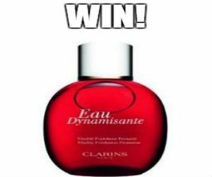 Win Clarins Eau Dynamisante Spray