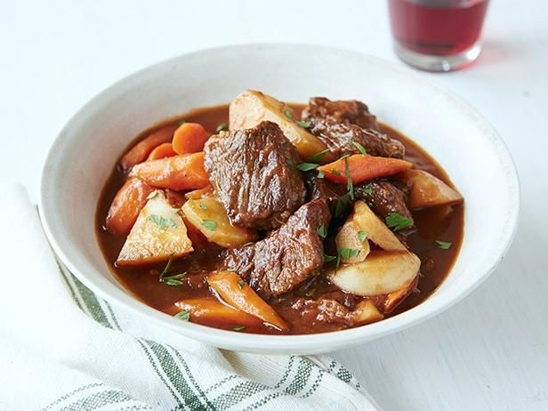 Get Ree Drummond's Beef Stew with Root Vegetables Recipe from Food Network