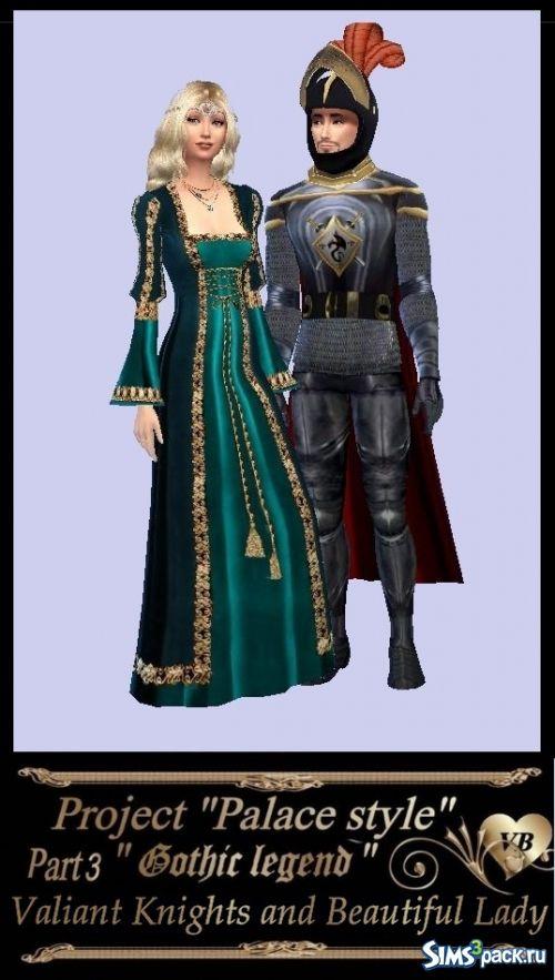 Seth medieval clothing: Valiant Knight and beautiful lady from LeonaLure to The Sims 4 http://sims3pack.ru/sims-4/odezhda/odezhda-zhenskaya/15391-set-srednevekovoy-odezhdydoblestnyy-rycar-i-prekrasnaya-dama-ot-leonalure.html