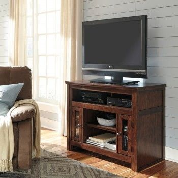 Buy Harpan - Reddish Brown - TV Stand online for your living room - Michael's…
