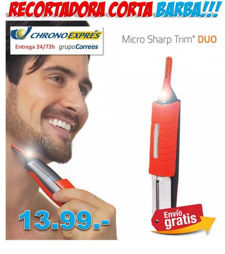 #regalos #regalosoriginales #hombres #belleza #salud #ofertas #descuentos #compras #comprasonline Maquina recortadora de barba cortapelos Micro Sharp Trim Duo http://www.yougamebay.com/es/product/maquina-recortadora-cortapelos-barba-micro-sharp-trim-duo