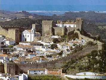 Obidos - A town within a castle in the modern day