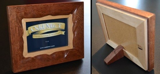 Sculptural Picture Frames by Odd Mr. T