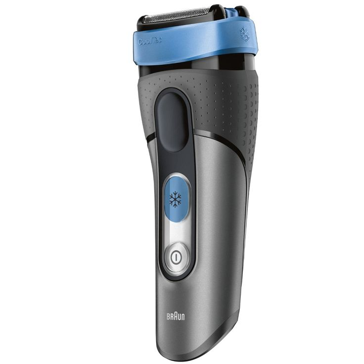 Personal Edge : Braun CT5CC-2 CoolTec Rechargeable Shaver with C&C Grey/Blue