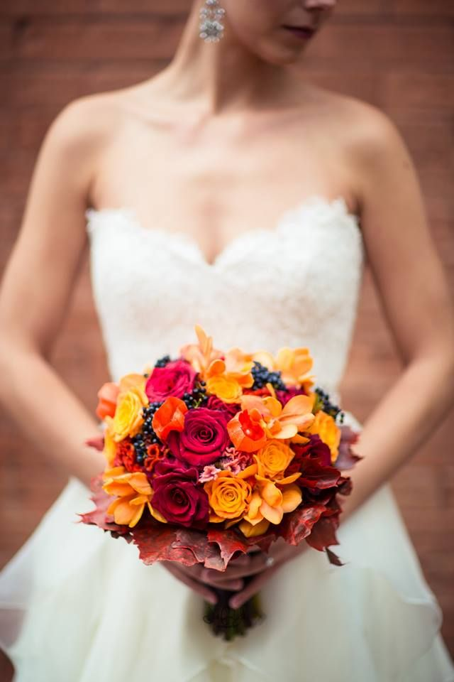 Love the tilt of the head for the bouquet shot.  Photo by Just For You Photography.