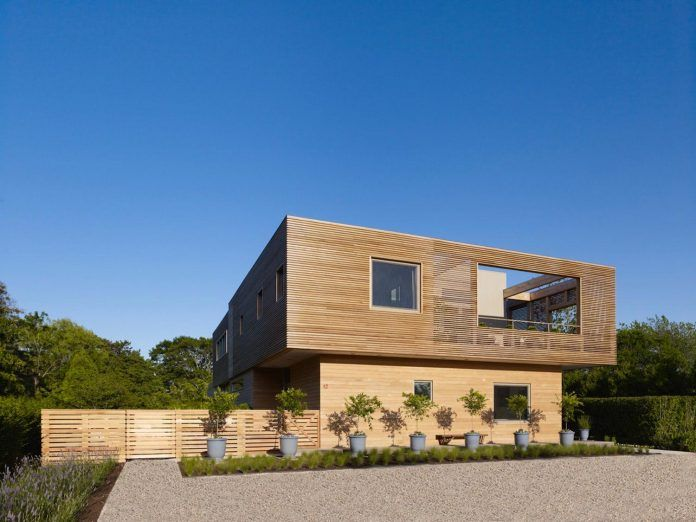 Austin Patterson Disston Architects designed an Hamptons passive residence covered up in wood - CAANdesign | Architecture and home design blog