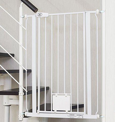 IMPAG ® Treppenschutzgitter Nala Für Geländer | Inkl. 4 Y Adapter Passend  Für 75cm   149cm | Höhe 105cm | Ohne Bohren | 4 Farben | Einfache Montage  ...