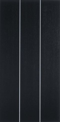 Frank Gerritz | Straight Up III, 2002 | Paintstick on anodized Aluminium