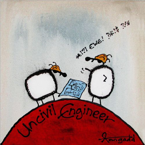 """Uncivil Engineer"" by Ann Gadd"