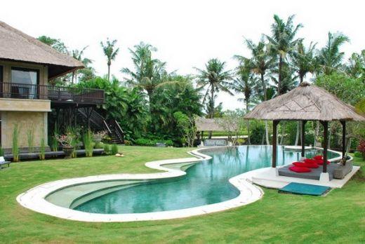 Villa Palm River Pool View