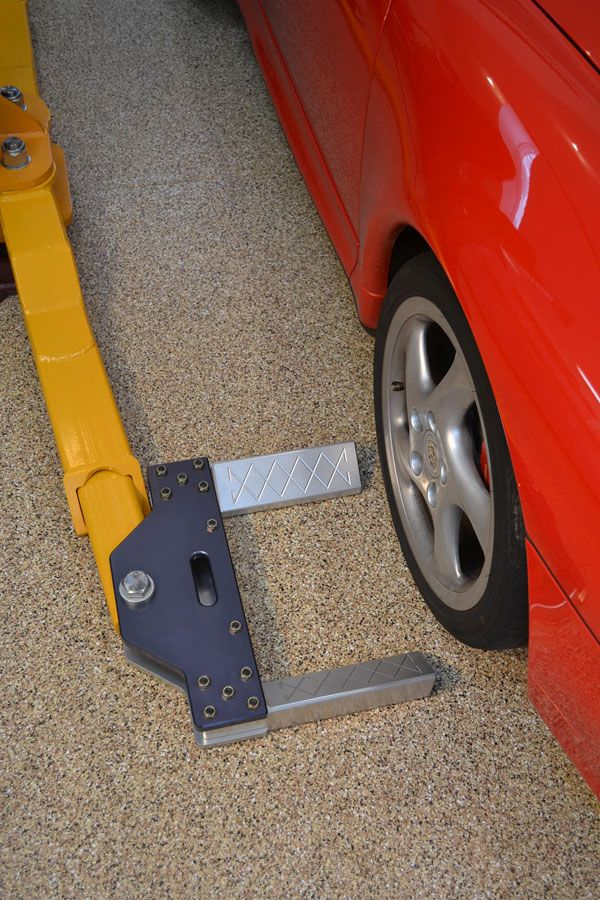Parking lift adapters for 2 post lift? - The Garage Journal Board