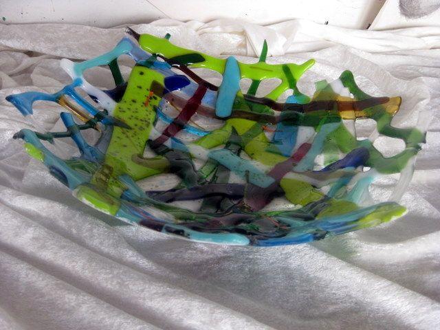 Holstebro Kommunale Ungdomsskole: Glaskunst nov 2011